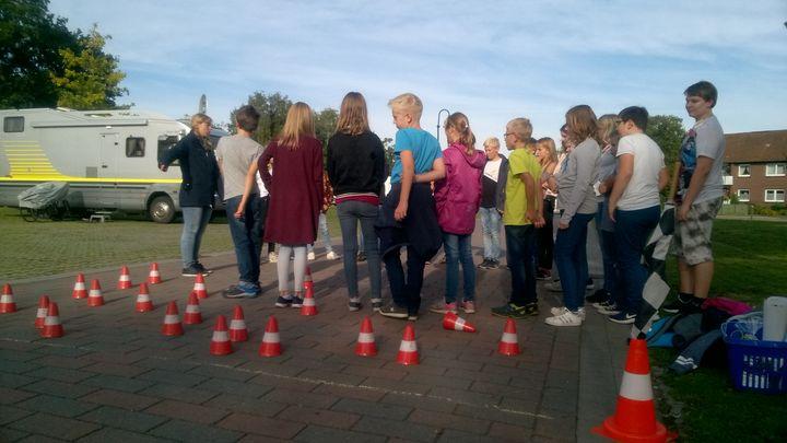 Der ADAC zu Gast an der IGS Friesland-Süd