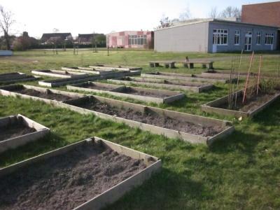 Schulgarten IGS Zetel