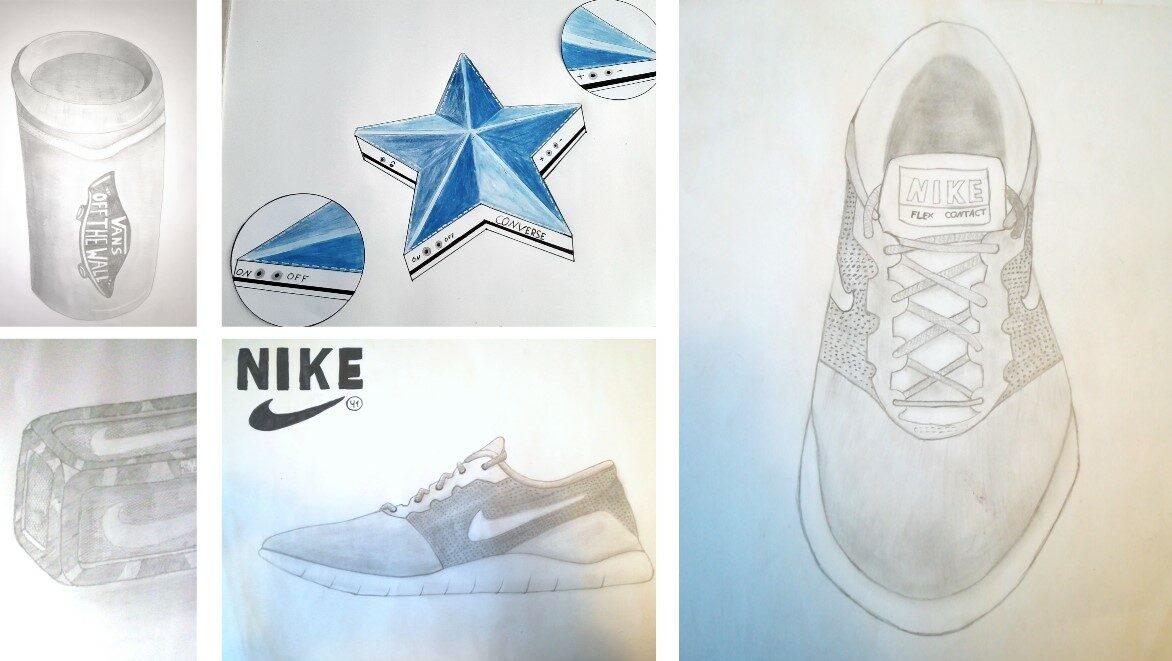 Kunstprojekt an der IGS Zetel: Sneaker to Speaker