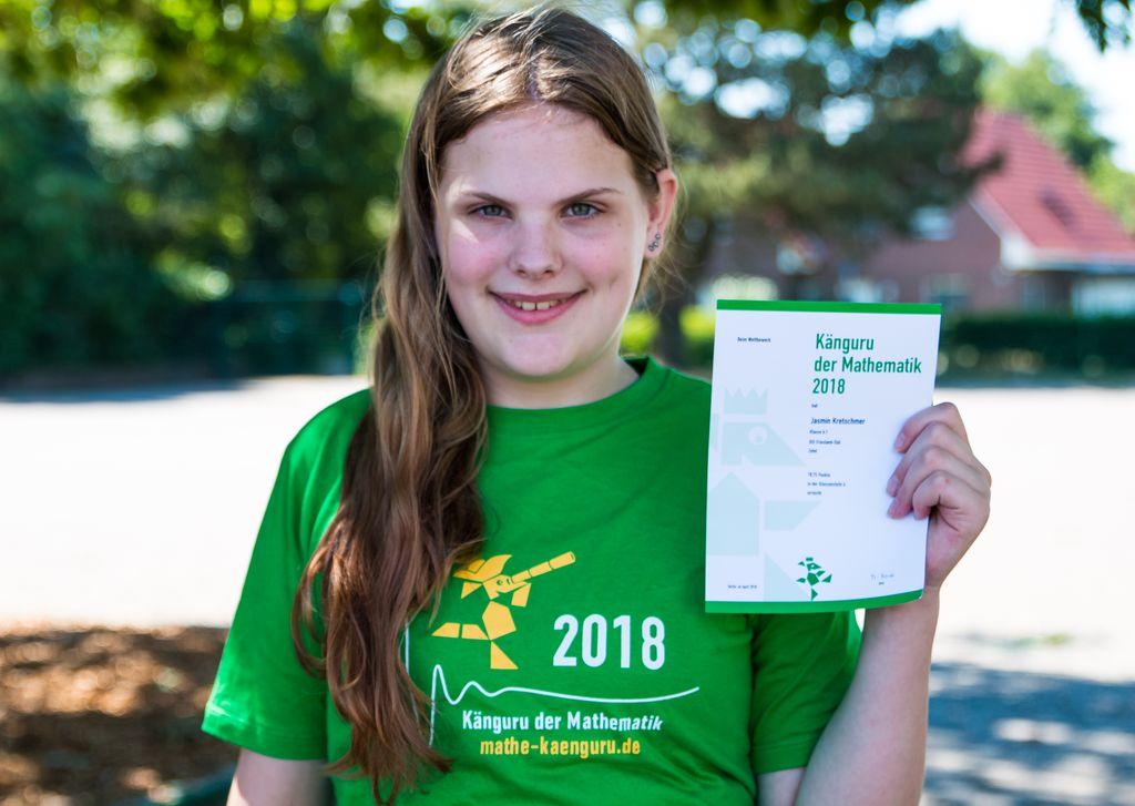 Mathe-Wettbewerb 2018 Siegerfoto